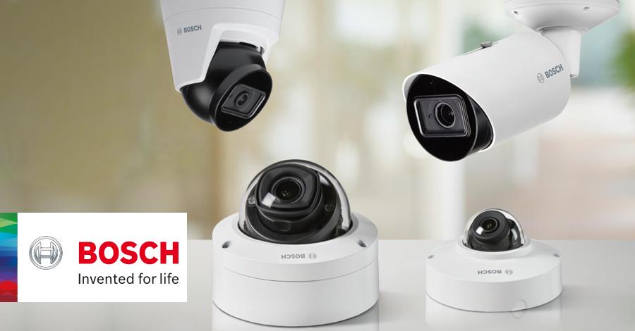 Bosch camera lijn