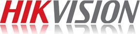 Hikvision logo met spiegeling