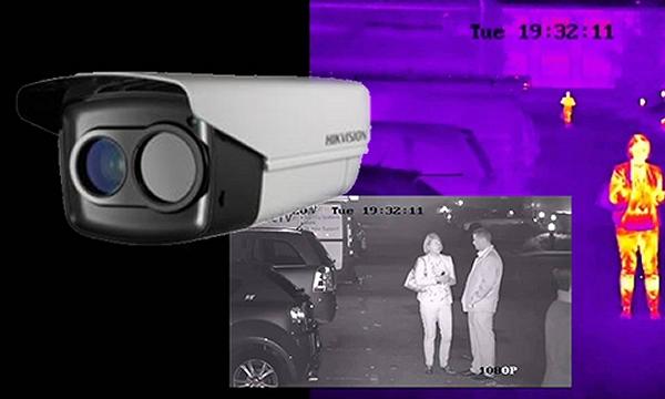 Hikvision thermische camera