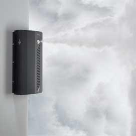 Mistgenerator protect zwart actief